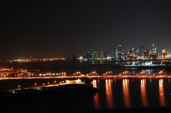 The Ritz-Carlton, Doha: View of Doha from the room