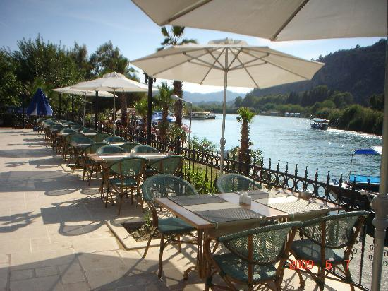 Dalyan Tezcan Hotel: terrace