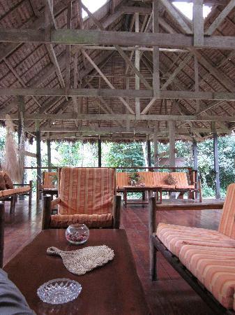 Posada Amazonas: Lounge area