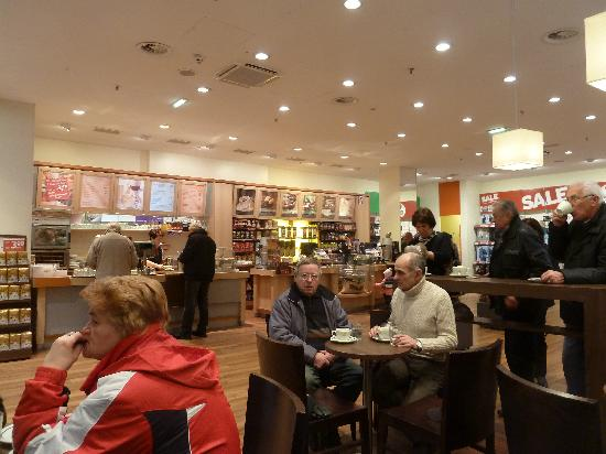 Tchibo Cafe : Innenraum