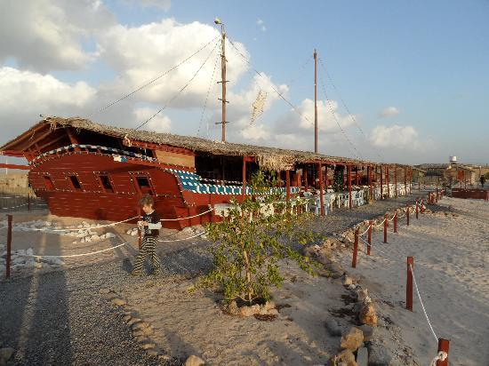 The Turtle Beach Resort Ras Al Hadd Ship Shape Dining And