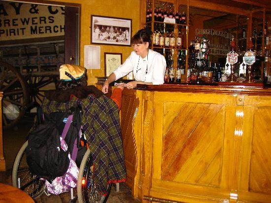 Milestones Museum: Get a drink in the Victorian Pub.