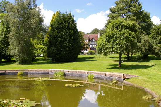 Farnham House Hotel viewed form its grounds