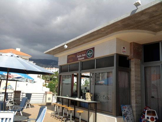 Terraza El Jable : The bar