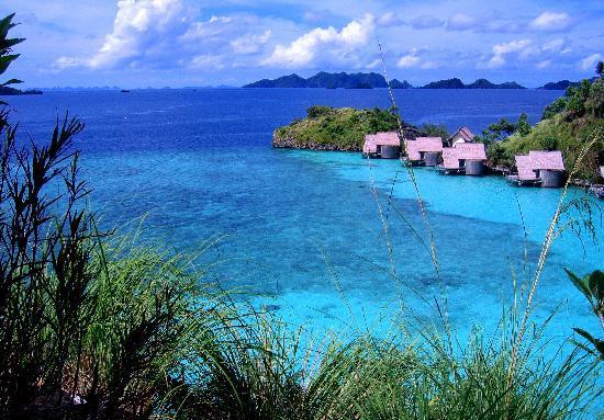 Misool Eco Resort: Bay view