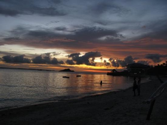 Sunset in Malapascua Island