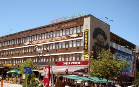 Gromada Zakopane: View from Krupowki street