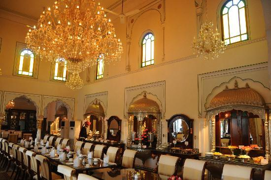 The Raj Palace: Swapna Mahal restaurant
