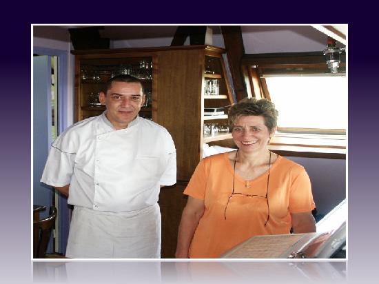 Restaurant Saint-Exupéry : Andrée MATHIEU et Alain Schmitt le Chef Cuisinier