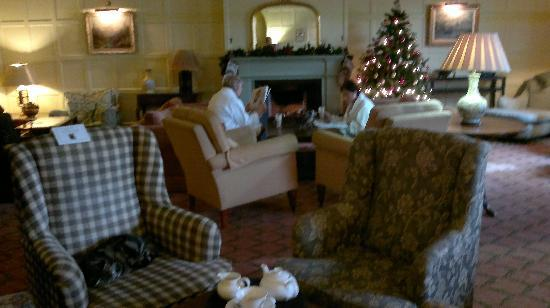 Ragdale Hall Spa: Main lounge