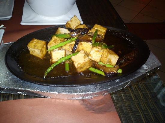 Red Kimono : tofu steak