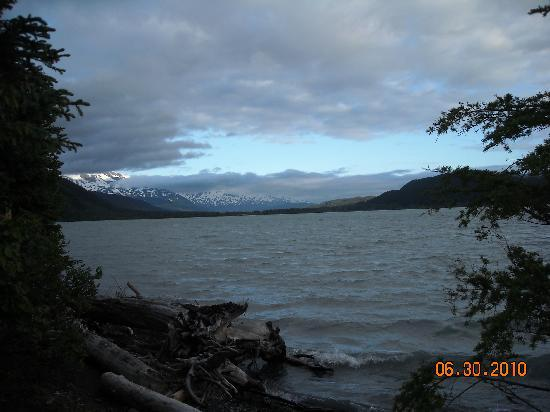 Renfro's Lakeside Retreat : View of Kenai Lake from cabin
