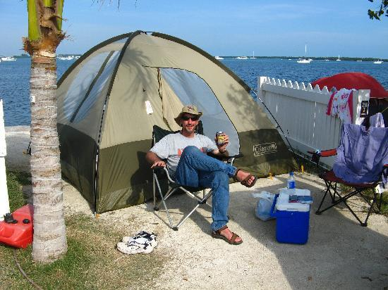 Boyd's Key West Campground: Tent Campsit #26