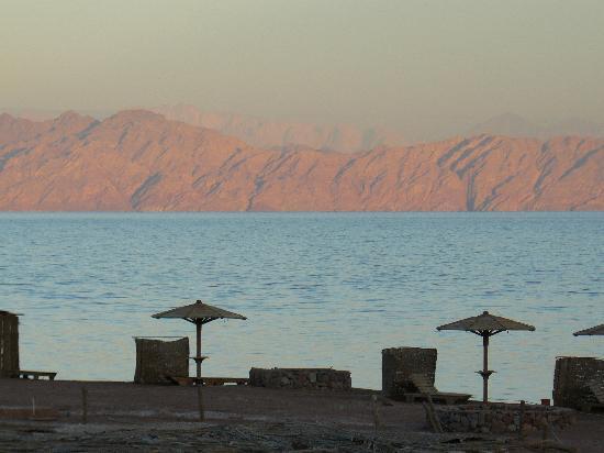 Daniela Village Dahab: look on Saoudi as sun sets