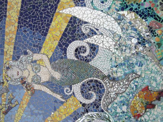 Bike D'Vine : Mosaic up close