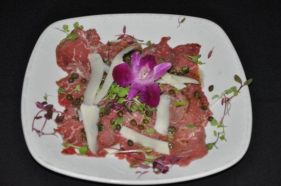 Chip's Sanibel Steakhouse : Fabulous Beef Carpaccio at Sanibel Steak House