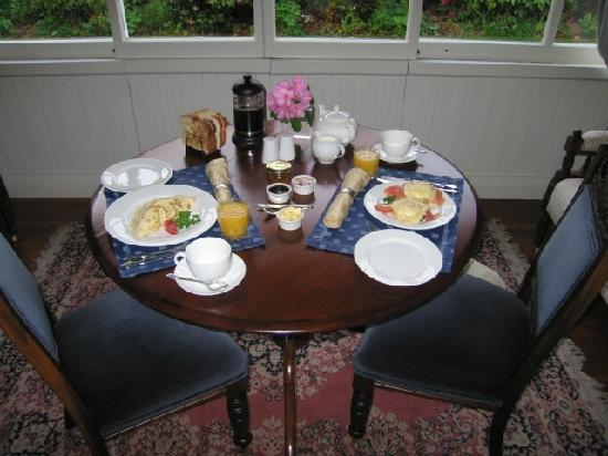 Cheltenham House: Decadent breakfasts in your suite