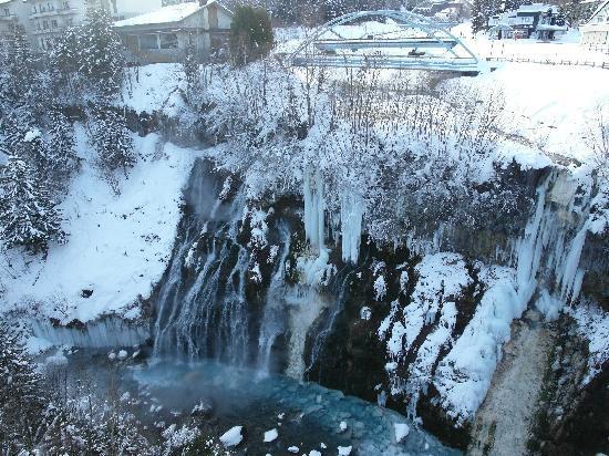 Yumoto Shirogane Onsen Hotel : Shirogane Falls