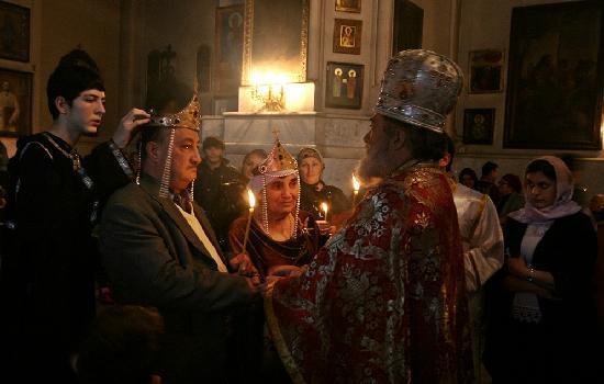 Tbilisi, Georgia: gürcü düğünü