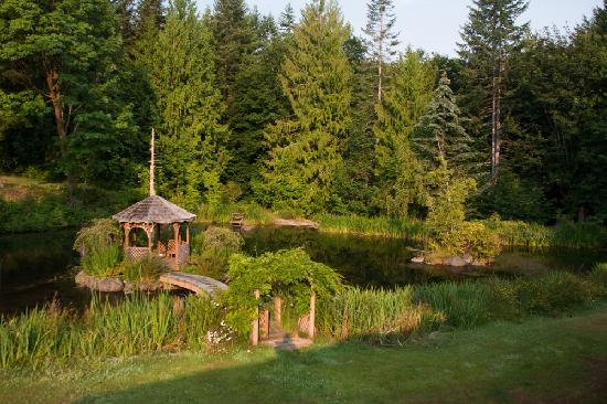 A Hidden Haven Bed and Breakfast: The grounds are fabulous and peaceful