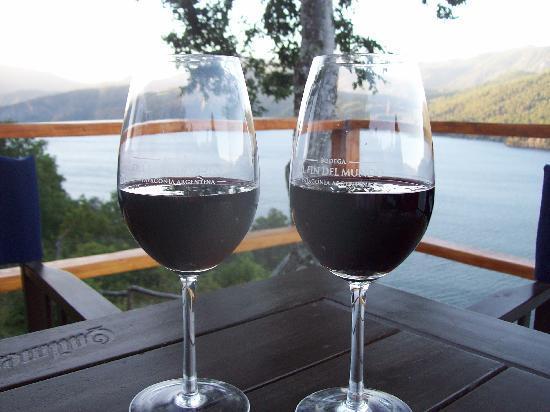 Rio Hermoso Hotel de Montana: No puede faltar el buen vino!