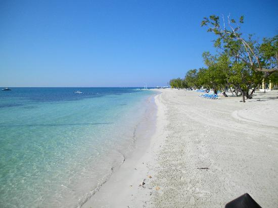 Sandals South Coast: magnifique plage