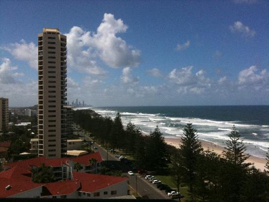 Burleigh Heads, Αυστραλία: The view from our lounge room