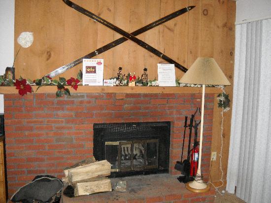Snow Tree Condominiums: Fireplace