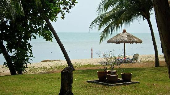 Vivanta by Taj Rebak Island, Langkawi: View from the room - direct beach access