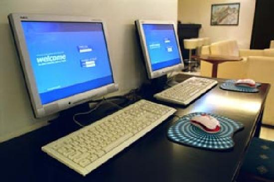 Economy Hotel: free internet access