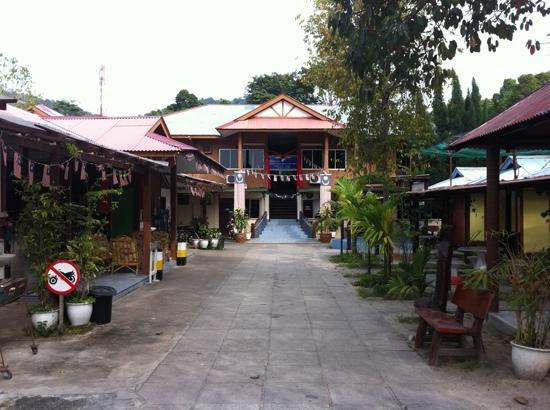 Pangkor, Malasia: Seagull Beach Village Resort