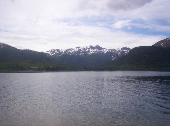 Villa Pehuenia, Argentine : lago Moquehue
