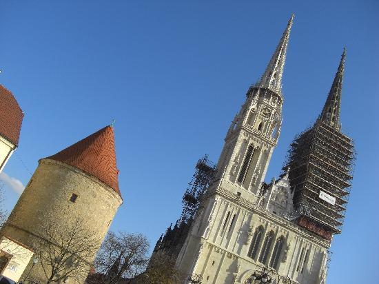 Zagreb, Croatie : Kathedrale