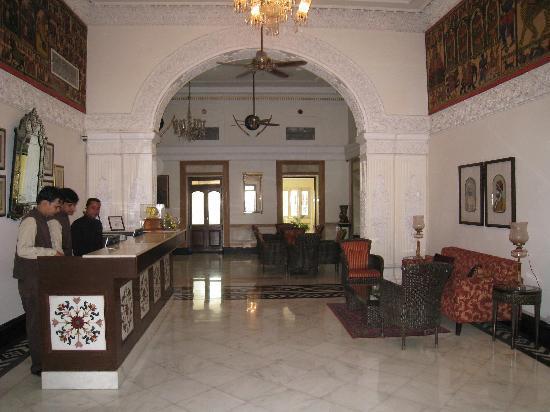 The Lalit Laxmi Vilas Palace Udaipur: recepcion