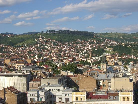 Blick auf Sarajevo 3