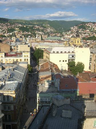 Blick auf Sarajevo 4