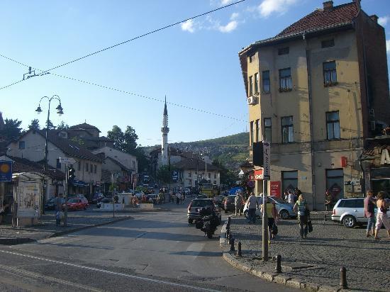 سراييفو, البوسنة والهرسك: Straßenszene 2