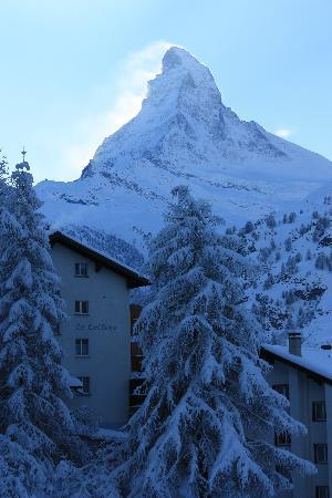 CERVO Zermatt: View from balcony