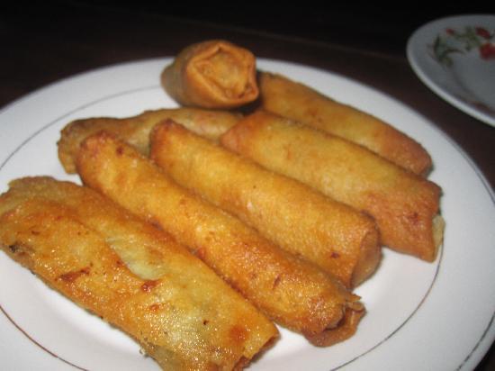 Μπαταμπάνγκ, Καμπότζη: Taro spring rolls