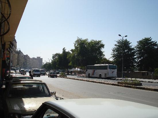 View from AMR Tours (Aswan main road)