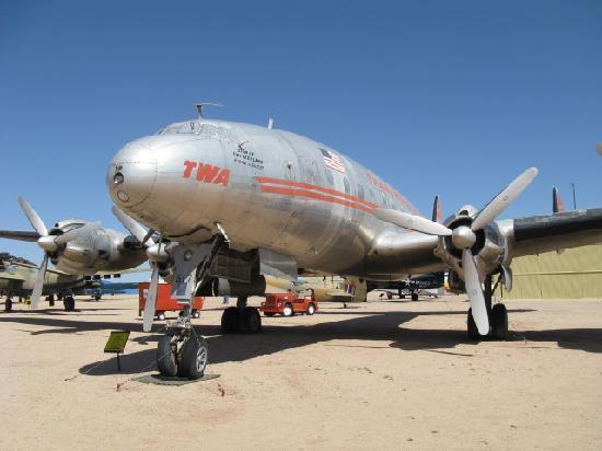 Pima Air & Space Museum: TWA Connie  Love that plane!