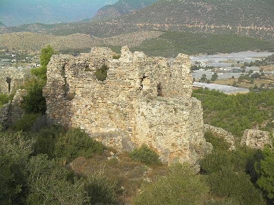 Bozyazi, Turkey: Softa Kalesi, Bozyazı
