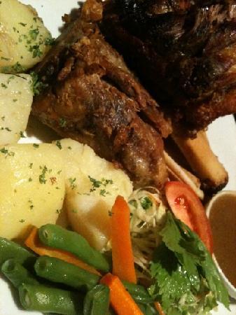 The Bavarian German Restaurant and Pub: Pork Knuckle