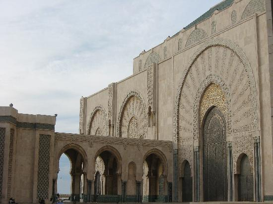 Hassan II-moskéen: Side view