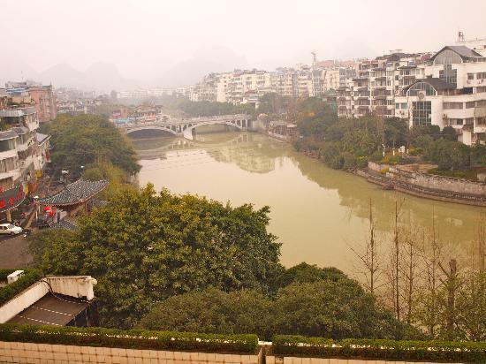 ‪‪Osmanthus Hotel‬: river view from hotel room‬