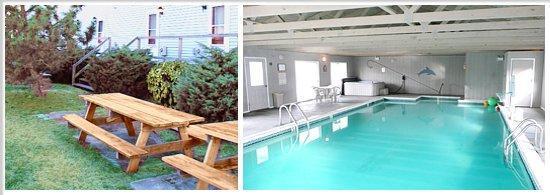 Dove Winds: Indoor heated pool.