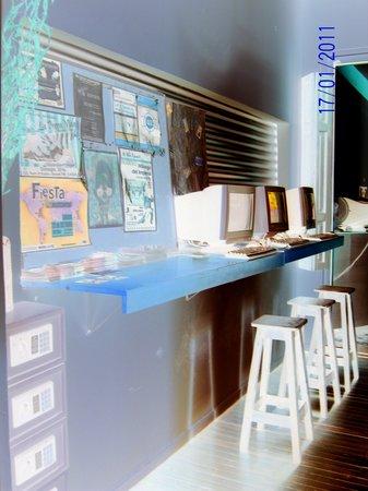 OHO de San Telmo: sala de computadoras