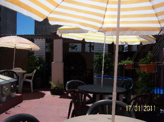 OHO de San Telmo: terrazaº
