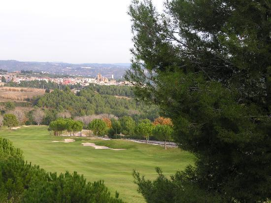 Barcelo Montserrat: vista desde el valcon