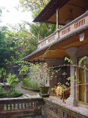 Walking into the compound at Ketut's Place